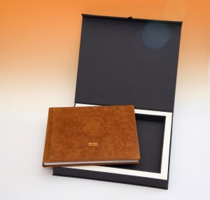 קופסא לספר מתנה לדן שפירו