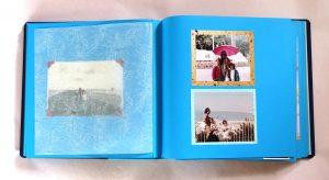 אלבום בהדבקה עם תמונות וברכות