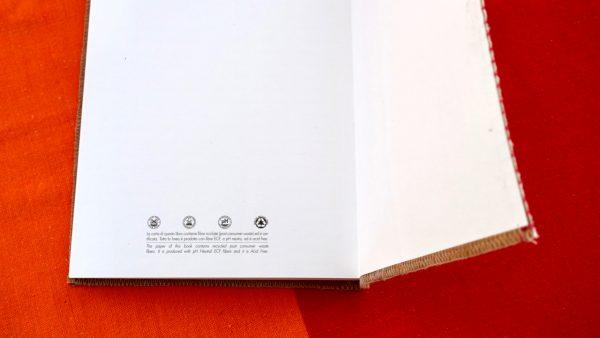 נייר ממוחזר מחברת איכותית