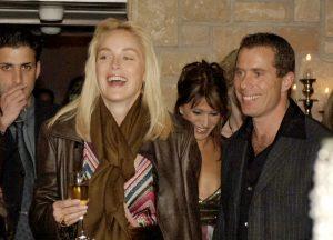 שרון סטון במסיבה בסביון
