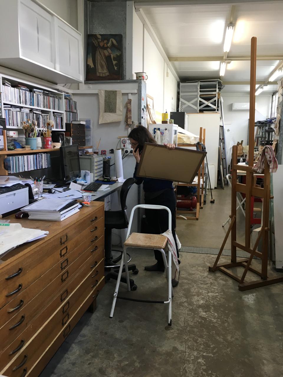 סטודיו לשימור נייר ואמנות