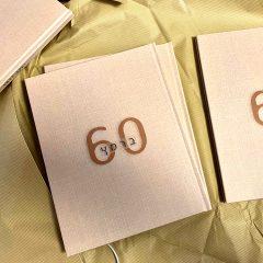 מתנה ליעקב ברמץ ליום הולדת 60